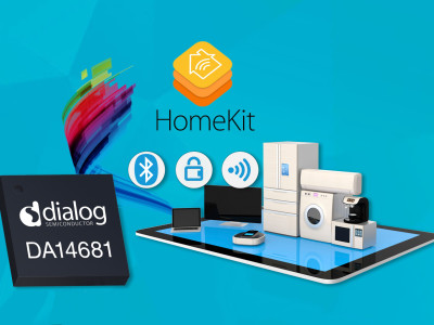 Dialog Semiconductor Simplifies Smart Home Device Creation with New Apple HomeKit Bluetooth Development Kit