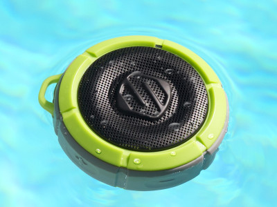 Scosche BoomBUOY Outdoor and Waterproof Wireless Speaker Floats in Water