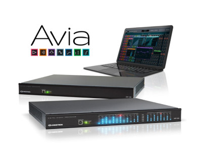 Crestron Introduces New Avia Distributed Audio DSP Ecosystem
