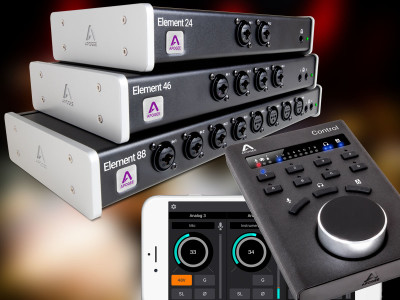 Apogee Updates Element Thunderbolt Interfaces with Talkback Feature and Apogee Control Compatibility