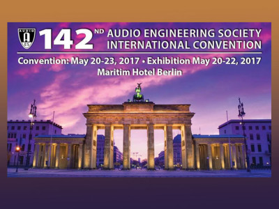 Technical Program Unveiled for 142nd International AES Convention in Berlin