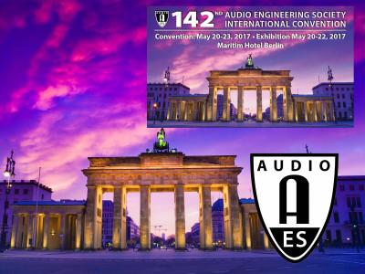 Audio Engineering Society 142nd International Convention Returns to Berlin