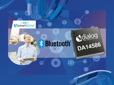 Dialog Semiconductor Introduces Bluetooth 5 Low Power SoC with Integrated Microphone Interface