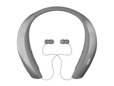 LG TONE Studio Wearable Around the Neck Personal Surround Speakers and Earbuds Now Available