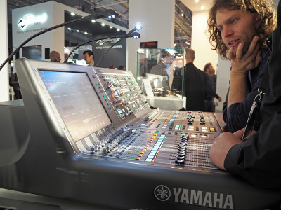 Yamaha Introduces New Control Surface for RIVAGE PM10 digital mixing system and Significant Updates at ProLight+Sound 2017