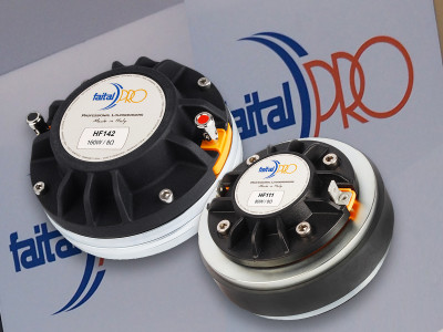 FaitalPRO Announces Two New HF Compression Drivers with Improved Performance and Reduced Weight