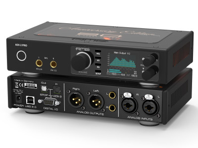 RME ADI-2 Pro Anniversary Edition Ultra-fidelity PCM/DSD 768 kHz AD/DA Converter
