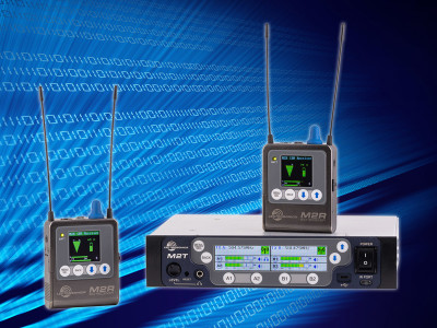 Lectrosonics Introduces the Duet Digital Wireless Monitor System with Dante Inputs