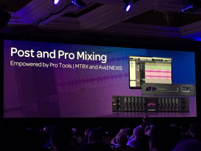 Avid Pro Tools to Provide Native Dolby Atmos Mixing