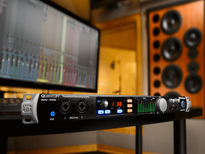 PreSonus Announces Quantum Thunderbolt Studio Interface