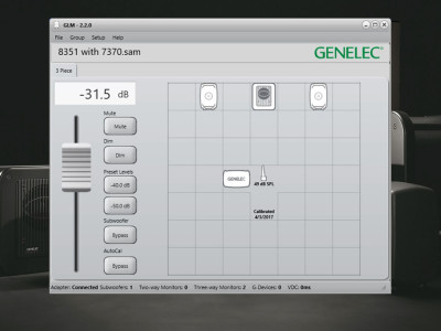 Genelec Announces New Genelec Loudspeaker Manager (GLM) Version 2.2 Software