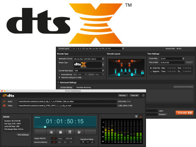 DTS Announces DTS:X Creator Suite for Immersive Object-Based Audio