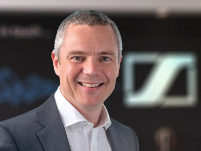 Sennheiser Appoints Pete Ogley as Chief Operating Officer Consumer Electronics