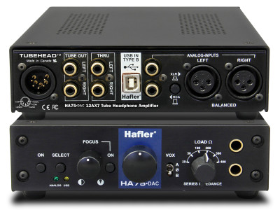 Hafler Introduces HA75-DAC Headphone Amplifier and USB DAC