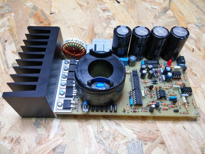 You Can DIY!: An Ecological Power Supply for Power Amplifiers