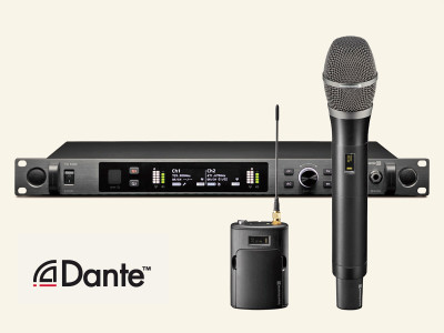 beyerdynamic Launches TG 1000 Wireless System with Dante Digital Network Connectivity
