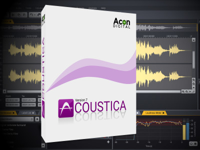 A Powerful New Audio Editing Alternative: Acon Digital Releases Acoustica 7 for Mac and PC