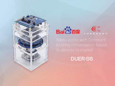 Conexant Delivers AudioSmart Voice Solutions for Baidu's New DuerOS AI Development Kits and Reference Designs