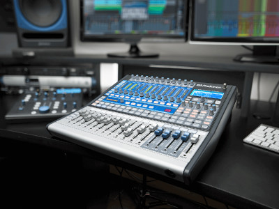 PreSonus Releases Extremely Affordable StudioLive 16.0.2 USB Digital Mixer