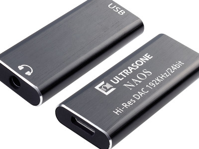 Ultrasone Announces NAOS Ultra-Compact 24bit/192kHz Headphone DAC