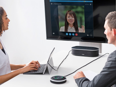 Yamaha YVC-1000MS Unified Communications Speakerphone Gets Skype for Business Certification