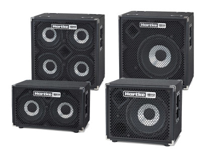 Hartke Celebrates 10 Years of HyDrive Speaker Technology with Improved HyDrive HD Series Bass Cabinets