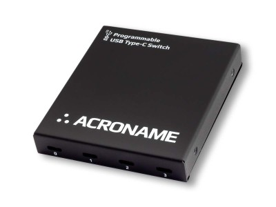 Acroname Announces First Programmable USB Type-C Switch