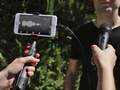 IK Multimedia Announces New iRig Mic HD 2 Handheld 24/96 Recording Microphone