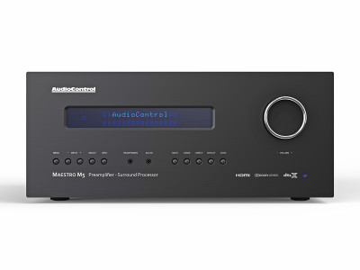 AudioControl Introduces the Maestro M5 Premium Home Theater Processor Offering the Latest Immersive Surround Formats and DIRAC Room Correction