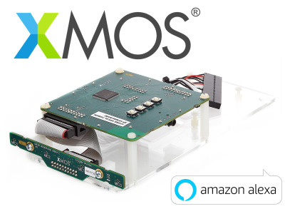 XMOS Delivers Amazon Alexa Voice Service Development Kit with Linear Mic Array for Far-Field Voice Capture