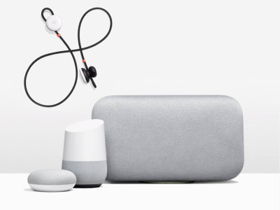 Google Unveils New Home Smart Speakers and Wireless Pixel Buds