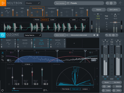 iZotope Releases Ozone 8 and Neutron 2 Mixing and Mastering Software