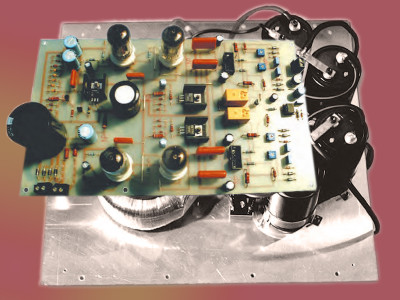 A Modular Hybrid Amp System