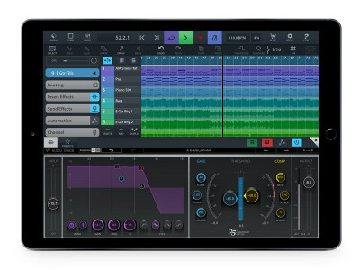 Steinberg Launches Cubasis 2.3 for iOS Now Supporting Waves Plug-ins