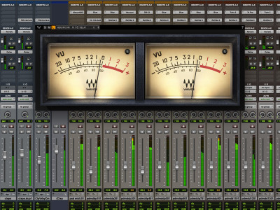Waves Audio Offers New Waves VU Meter