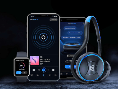 66 Audio Takes Alexa Voice Recognition Out of Home with PRO Voice Wireless Headphones
