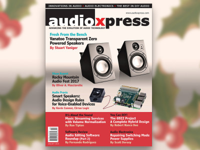Kick-off 2018 with audioXpress and The Best in Audio Development and Design!