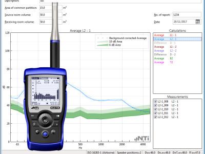 NTi Audio Exel Building Acoustics Kit Allows Easy Sound Insulation Measurements