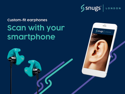Snugs Wants to Revolutionize Custom-Fit Earphones with Snapp Mobile App