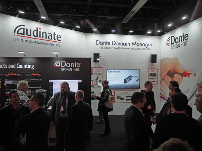 Audinate's Dante Domain Manager Platform Now Available