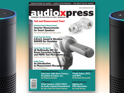 It's Test and Measurement Time! audioXpress March 2018 Now Available!