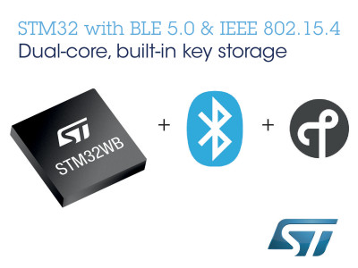 STMicroelectronics Introduces Next-Generation Wireless Platform for Higher-Performing Bluetooth Devices