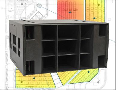 "Martin Audio Announces New Hybrid Double 18"" Subwoofer and EASE Focus 3 Compatible Measurement Data"