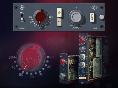 Universal Audio Releases Neve Preamp Plug‑In for UA Audio Interfaces and UAD‑2 Hardware
