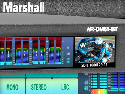 Marshall Electronics Releases New AR-DM61-BT Multi-Channel Digital Audio Monitor