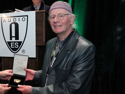 """Malcolm Hawksford to Give AES Milan Heyser Memorial Lecture – """"Understanding High Quality Audio – A Personal Journey"""""""