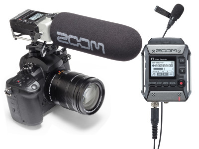 Zoom Launches F1 Field Recorder and Mic Systems for Video Recording Devices