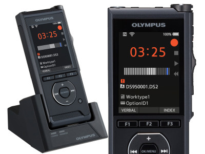 Olympus DS-9500 Digital Recorder Enhances Professional Dictation