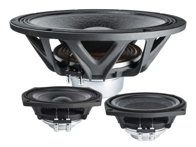 """FaitalPRO Introduces Two New Midrange Drivers and One 18"""" Super Woofer at Prolight+Sound 2018"""