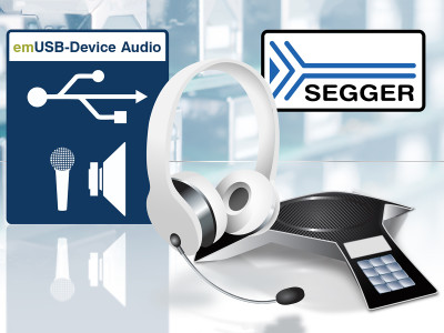 SEGGER Introduces Audio Class for Embedded Development of USB Devices